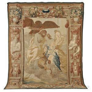 Flemish Mythological Tapestry, Brussels, 17th century (Estimate $20,000-$25,000)