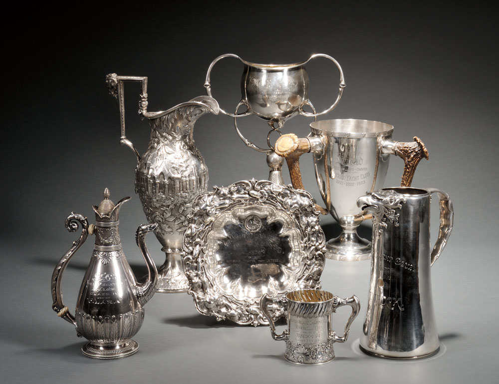 Selections from The Freedland Collection of Yachting Trophies