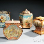 Six Large Advertising Tins (Lot 1429, Estimate $175-$225)