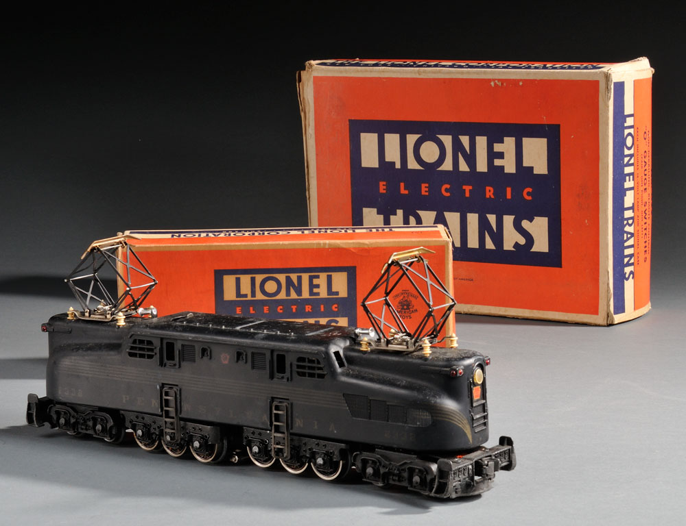 Group of Lionel Trains and Accessories (Lot 1125, Estimate:$500-700)