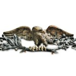 Carved and Painted Spreadwing Eagle Carving, presumed to be from Beacon, New York, 19th century (Lot 214, Estimate $6,000-$8,000)