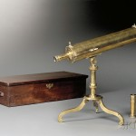 James Short Gregorian Reflecting Library Telescope, London, mid-18th century (Lot 288, Estimate $5,000-$7,000)