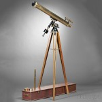 Alvan Clark & Sons 4-inch F/15 Refractor Telescope, Cambridgeport, Massachusetts, 19th/early 20th century (Lot 299, Estimate $15,000-$25,000)