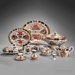Assembled Royal Crown Derby Imari Palette Porcelain Dinner and Dessert Service, England, c. 1850-1925 (Lot 598, Estimate $6,000-$8,000)