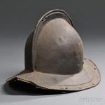 Continental Morion Helmet, c. 17th century (Lot 1074, Estimate $400-$600)