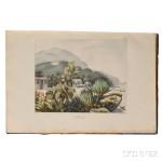 Choris, Louis (1795-1828) Vues et Paysages des Regions Equinoxiales, Recueillis dans un Voyage autour du Monde. Paris: Paul Renouard, 1826. (Lot 166, Estimate $3,000-$5,000)