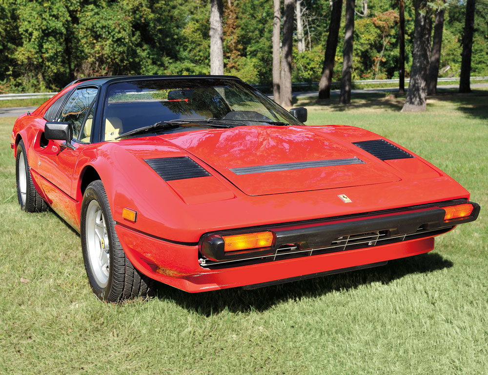1980 Ferrari 308GTSI, VIN# 8A0032639 (Lot 1, Estimate $28,000 $32,000)