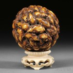 Ivory Ball of Rats, Japan, 19th century (Lot 249, Estimate $3,000-$5,000)