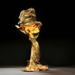 Raoul Larche (French, 1860-1912), Art Nouveau Loie Fuller Figural Lamp, Bronze, France, c. 1900 (Lot 120, Estimate $25,000-$30,000)