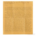 Kerouac, Jack (1922-1969) Typed Letter, with Manuscript Additions (Lot 44, Estimate $3,000-$5,000)