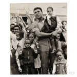 Malcolm X (1925-1965) and Muhammad Ali (b. 1942) Eight Photographs Taken by Robert Haggins (1922-2006) (Lot 63, Estimate $700-$900)