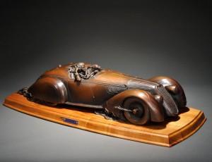 'Free Wheelin' Bronze Sculpture by Stanley Wanlass ( American b. 1941) (Estimate $12,000-$18,000)