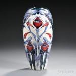 Modern Moorcroft Pottery Vase, Emma Bossons, 2001 (Lot 336, Estimate $200-$400)