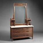 Herter Brothers Aesthetic Movement Rosewood Mirrored Dresser, late 19th century (Lot 567, Estimate $3,000-$5,000)
