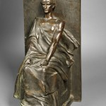 Charles-Rene Saint-Marceaux (French, 1845-1915), Seated Bronze Figure (Lot 649, Estimate $800-$1,200)