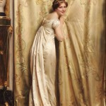 Charles Joseph Frederic Soulacroix (French, 1825-1879 or later) A Peek Behind the Curtain (Lot 345, Estimate $20,000-$30,000)