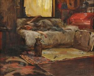Irving Ramsey Wiles (American, 1861-1948) Sunlight in the Studio (Lot 490, Estimate $100,000-$150,000)