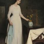 Frank Weston Benson (American, 1862-1951) Figure in White (Lot 495, Estimate $350,000-$550,000)