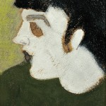Milton Avery (American, 1885-1965) Pale Profile (Lot 618, Estimate $12,000-$18,000)