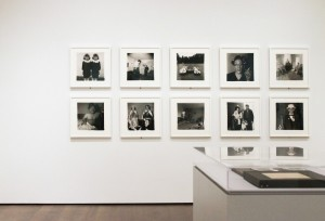 A gallery at the new Harvard Art Museums, with photographs from the collection of the Fogg Museum (September 8, 2014). © The Estate of Diane Arbus, LLC. Photo: Steven Waldron.
