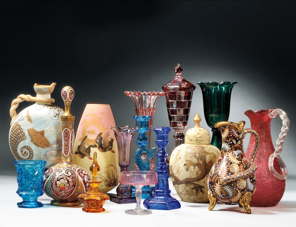 Selections from the Barron Collection of Glass