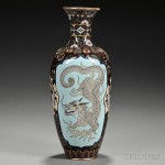 Cloisonne Vase, Japan, 19th/20th century (Lot 1192, Estimate $300-$500)
