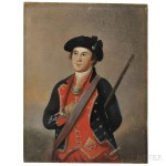 American School, Late 18th Century, After Charles Willson Peale (1741-1827) Portrait Miniature of George Washington as Colonel of the First Virginia Regiment (Lot 4, Estimate $4,000-$6,000)