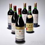 Mixed Rioja, 6 bottles (Estimate $350-$450)