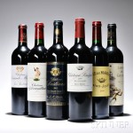 2005 Bordeaux, 6 bottles (Estimate $200-$300)