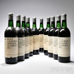 Ridge Geyserville Vertical, 10 bottles (Estimate $250-$400)