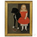 Portrait of Alice Whitman Pickett, Age 2 Years 6 Months, c. 1853 (Lot 321, Estimate $30,000-$50,000)